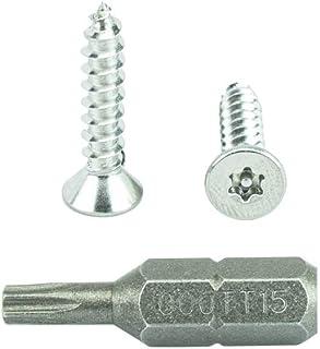 AISI 304 Stainless Steel TypeA 5000 pcs #2 X 1//4 Flat Undercut Phillips Drive 18-8 Self-Tapping Sheet Metal Screws