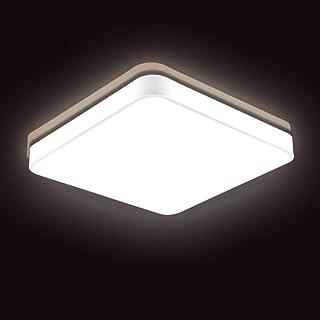 Plafoniera Lampada da Ufficio Llluminazione da Ufficio Tondo Luce bianco, 48.0W,60CM Sararoom Lampada da soffitto LED