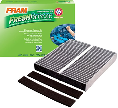 FRAM CF10140 Fresh Breeze Cabin Air Filter with Arm & Hammer