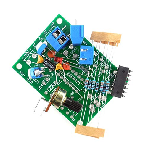 73JohnPol HW-530 ICL8038 Funktion Signalgenerator Schaltung Produktion Sinus Dreieck Welle Rechtecksignal Teile DIY Ersatzteil, grün