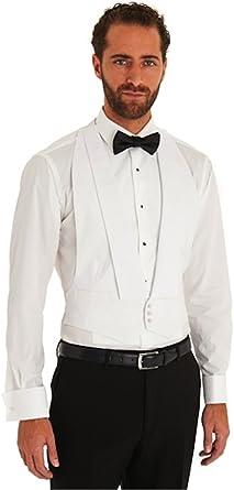 Chaleco blanco estilo Marcella, chaleco de vestir de noche/cola traje