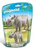 PLAYMOBIL - Rinoceronte con bebé (66380)