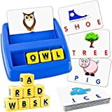 ZZYYFC Matching Letter Games For Kids,Age 3-8 Educational Toys,Word Recognition, Spelling For 3-8 Year Olds Boys Girls Memory Game Spelling Games - Best Gifts