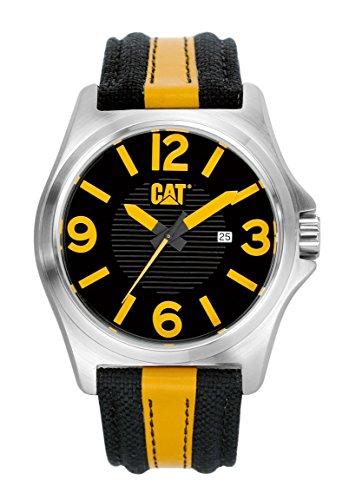 Caterpillar PK.141.63.137 - Reloj de Cuarzo para Hombre, Correa de Tela