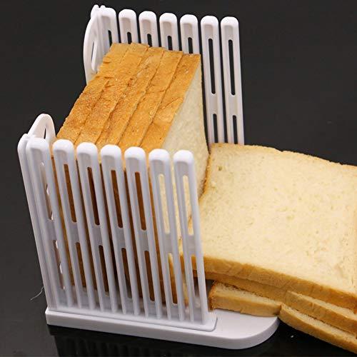 Brotschneidehilfe, Verstellbare Schneidehilfe, Brot, Toast & Kuchen, Brotbrett Einstellbare 4 Dicken Modi