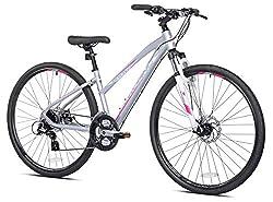cheap Giordano Brava Aluminum Hybrid Comfort Bike Women's Small Size 700c
