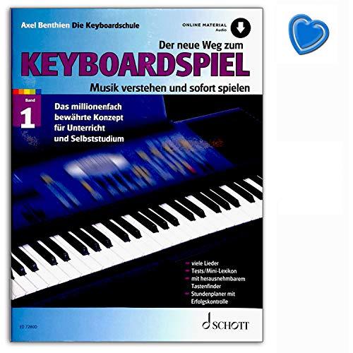 Der neue Weg zum Keyboardspiel Band 1 - Musik verstehen und sofort spielen - das millionenfach bewährte Konzept für Unterricht und Selbststudium - ED7280D 9783795717322