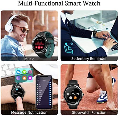 Smartwatch,Reloj Inteligente con Pulsómetro,Calorías,Cronómetros,Monitor de Sueño,Podómetro Pulsera Actividad… 7