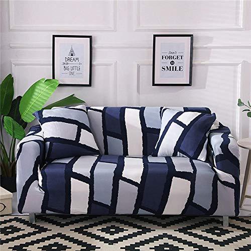 B/H Elastano elástico Funda de sofá,Funda de sofá elástica de algodón para Sala de Estar Funda de sofá Sofá Towel-12_190-230cm,Asiento Antideslizante sofá Funda Tejido