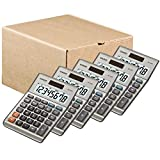 Casio MS-80B Standard Function Desktop Calculator / 5 Pack