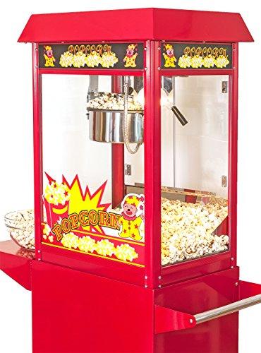 pajoma Popcornmaschine Kirmes XXL mit Wagen, 2-teilig