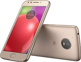 Verizon Prepaid Motorola Moto E4 4G LTE 16GB No-Contract Smartphone, Gold Color - Locked to Verizon Wireless
