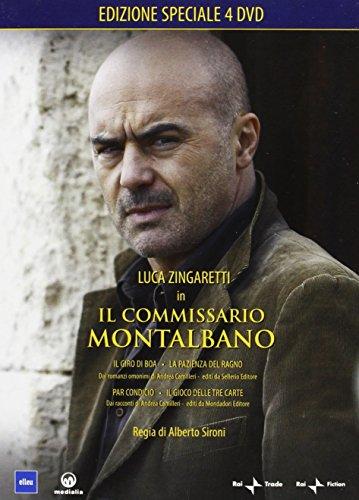 Il Comm.Montalbano 3 (Box 4 Dvd Anno 2005-2006 )