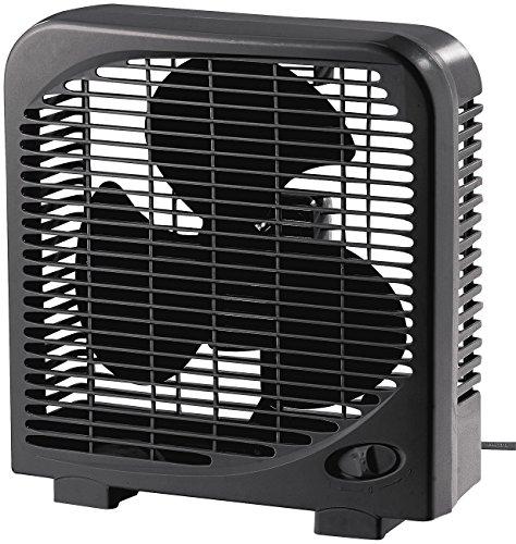 Sichler Haushaltsgeräte Mini Ventilator: Kompakter Tischventilator mit 2 Geschwindigkeiten, 28 W, Ø 20 cm (Ventilator Tisch)