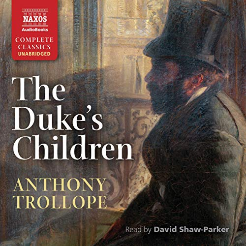 The Duke's Children audiobook cover art