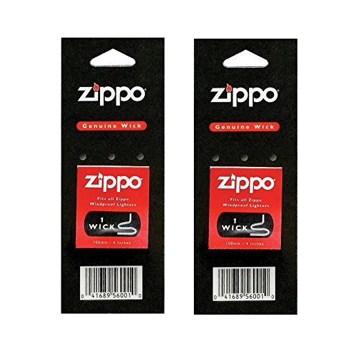 Zippo Genuine Replacement Wicks 2 Set