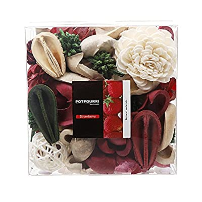 Qingbei Rina Gift Ocean Scent Decorative Potpourri Bag, Bowl Filler and Vase Filler, Volume of 33 Oz.