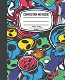 Composition Notebook: Wide Ruled college Journal for Students, Lined Composition Notebook for Adults | Perfect Cover with High Quality Papers (7.5 x 9.25 Inch, 110 Pages