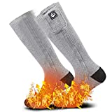 Heated Scoks for Women Men,Foot Warmers Electric Rechargable Battery...