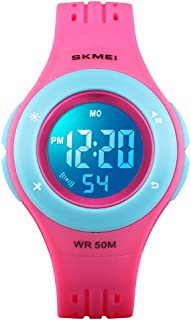 YxiYxi Kids Watch Digital Waterproof for Girls Boys...