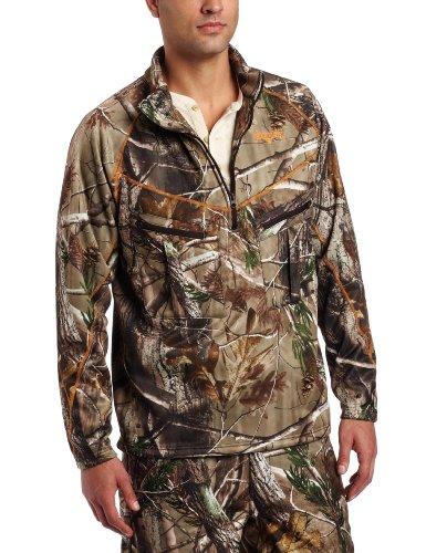 Scent-Lok Men's Exocore Half Zip Jacket,Realtree AP HD,2X