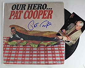 Pat Cooper Signed Autographed