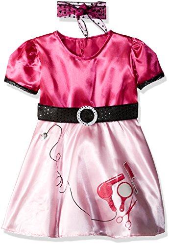Rubie's Child's 50's Beauty School Girl Costume, Small