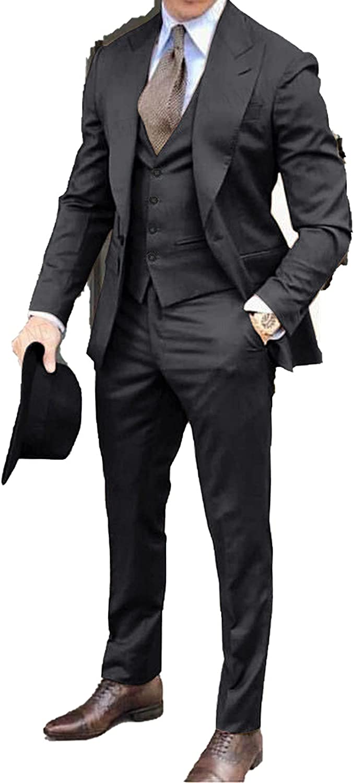2020 Brown Classic Men Purchase Suit 3 Pieces Wedd Free Shipping Cheap Bargain Gift Groomsmen Lapel Tuxedo