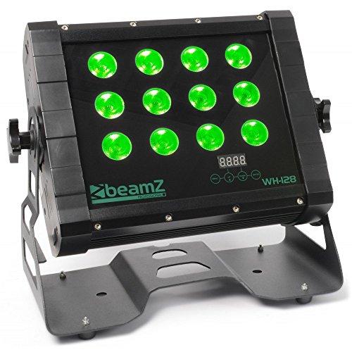 Beamz WH128schwarz–Disco-Zubehör (schwarz, LED, 12Lampe (S), 8W, 8Kanäle, 25°)