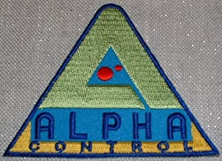 Lost in Space TV Series ALPHA CONTROL Logo PATCH