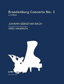 Brandenburg Concerto No. 3 in G major (arranged for piano, four-hands)