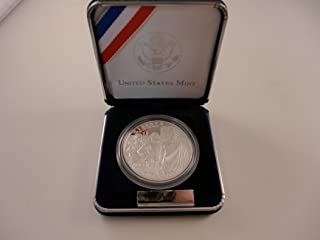 2007 P Commemorative Jamestown Proof Silver Dollar $1 Mint State US Mint