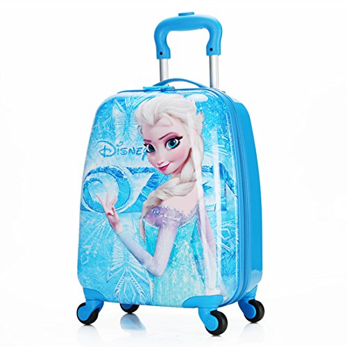 MOREFUN Ice Princesa 18 'Niños Hardside Carry on Ligero Spinner equipaje