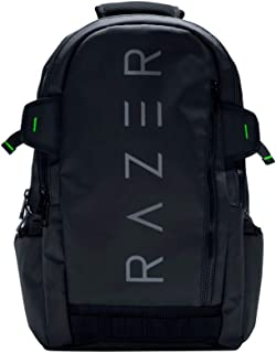 """Razer Rogue 15.6"""" Backpack - Protective Black Laptop & Notebook Backpack - Tear and Water-Resistant Exterior"""