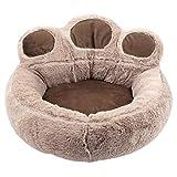 Morbido cuccia per gatti per cuccioli, cani di piccola taglia, divano per gatti, morbido cuscino per cani, cuscino per gatti, design con animali di orso, letto #1 S: 40 x 45 cm