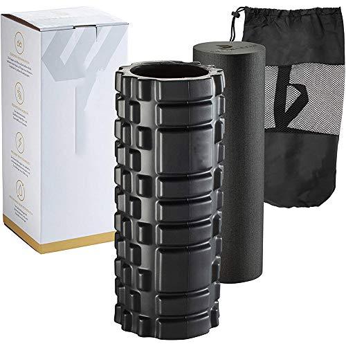 Buy Bargain Half-Round Foam Roller Yoga Pilates Beginner, Foam Roller Workout Equipment, Body Foam R...