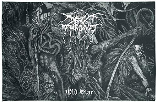 Darkthrone Old Star Unisex Flagge Mehrfarbig 100% Polyester Band-Merch, Bands