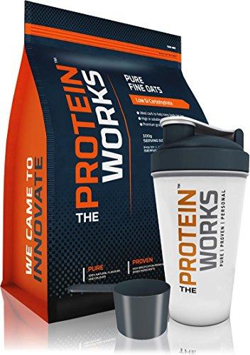 The Protein Works Avena en Polvo, Chocolate Suave - 1 kg