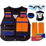 Home Holic Gilet Tactique Enfant,Kit de Veste Gilet,Kit Tactique Nerf N-Strike Elite...