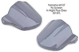 Yamaha MT07 / FZ07 Fly Screen: Night Fluo Grey 22137L