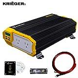 Best Power Inverters - Krieger 1500 Watts Power Inverter 12V to 110V Review