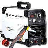 STAHLWERK CUT 70 P Coupeur de plasma IGBT avec 70 ampères, allumage pilote, capacité de coupe jusqu'à 25 mm,adapté aux tôles peintes, garantie de 7 ans