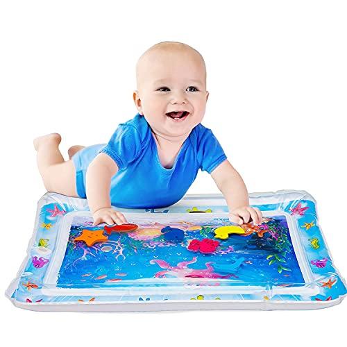 Kaiyingxin Tappetino Gonfiabile per Bambini, Tappetini per neonati, Stuoie da Gioco Premium per Bambini Giocattoli Sensoriali, Tappetino per Giochi d'Acqua