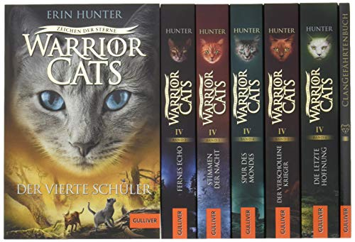 Warrior Cats. Zeichen der Sterne. Bände 1-6: Warrior Cats, Staffel IV, Bände 1-6