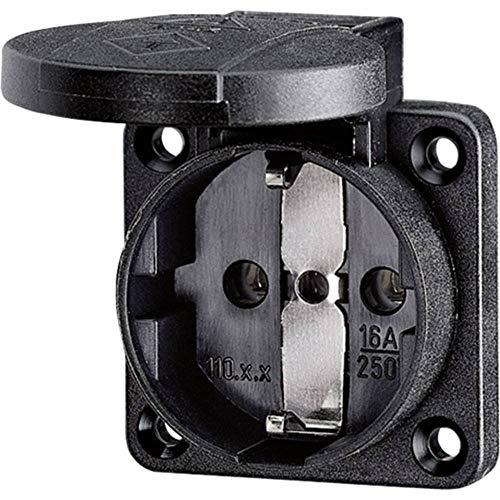 Preisvergleich Produktbild Mennekes 11012 Basis Einbautiefe Schuko 16 A Referenz