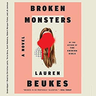 Broken Monsters audiobook cover art