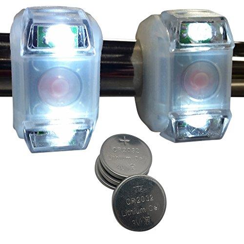 Photo of white colored Bright Eyes White Marine LED Lights
