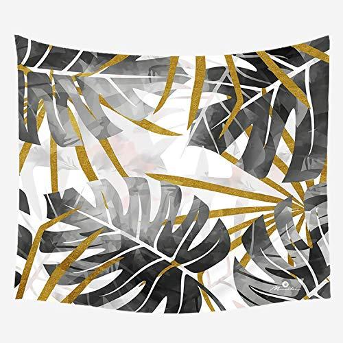 Fostudork Boheemse Tropische Plant Tapestry Muur Opknoping Polyester Dun Print Gordijn Stranddoek Tafelkleed Sofa Deken 75 * 87CM