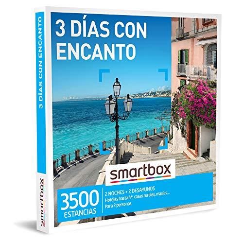 Smartbox - Caja Regalo Amor para Parejas - 3 días con Encanto - Ideas Regalos Originales - 2 Noches...