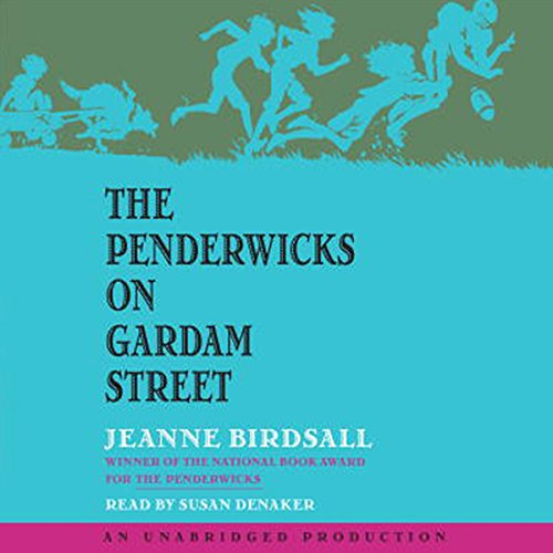 The Penderwicks on Gardam Street audiobook cover art